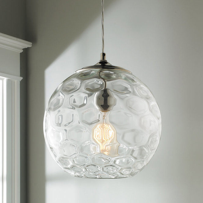 Honeycomb Bubble Pendant