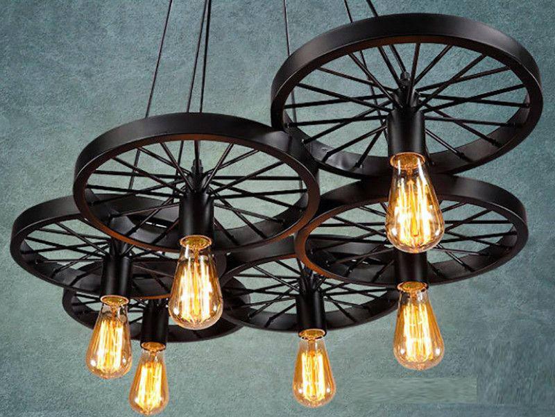 6 wheels Pendant light