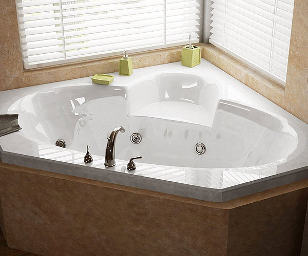Acrylic Whirlpool Bathtub