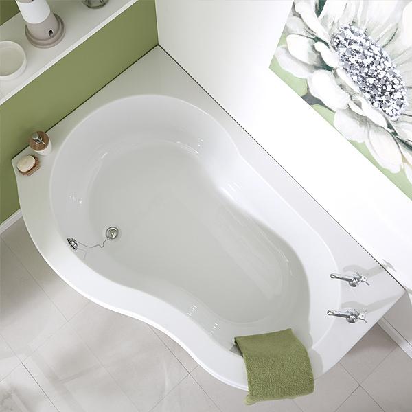 Corner Bath Without Seat