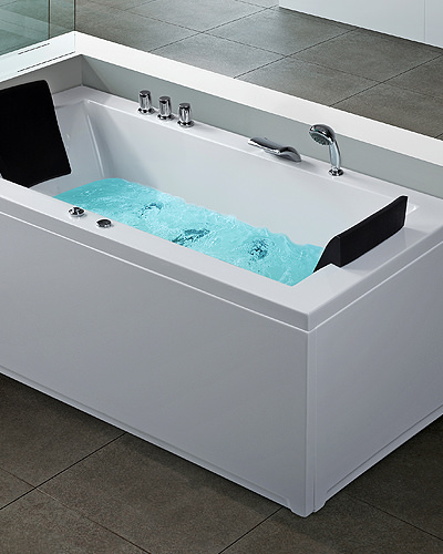 Rectangle Whirlpool Bathtub