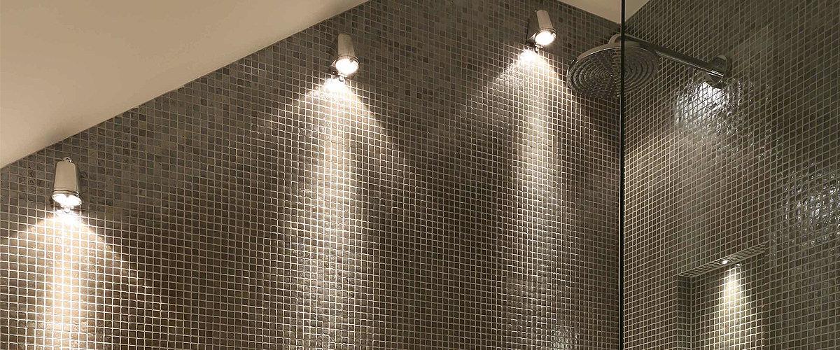 Shower lights waterproof led shower lights on sale - Waterproof bathroom ceiling lights ...