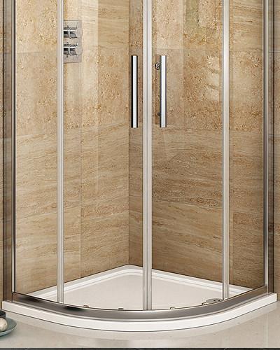 Semi Circle Shower Tray